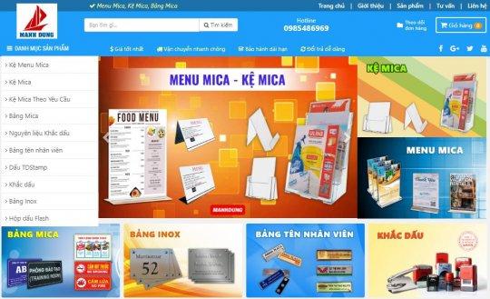 Trang Web manhdungvn.com